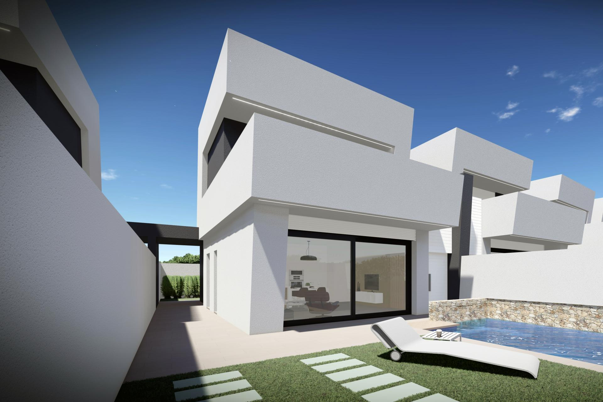 Semi-detached villa only 750m from the Mar Menor