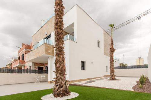 New build townhouse in Bigastro