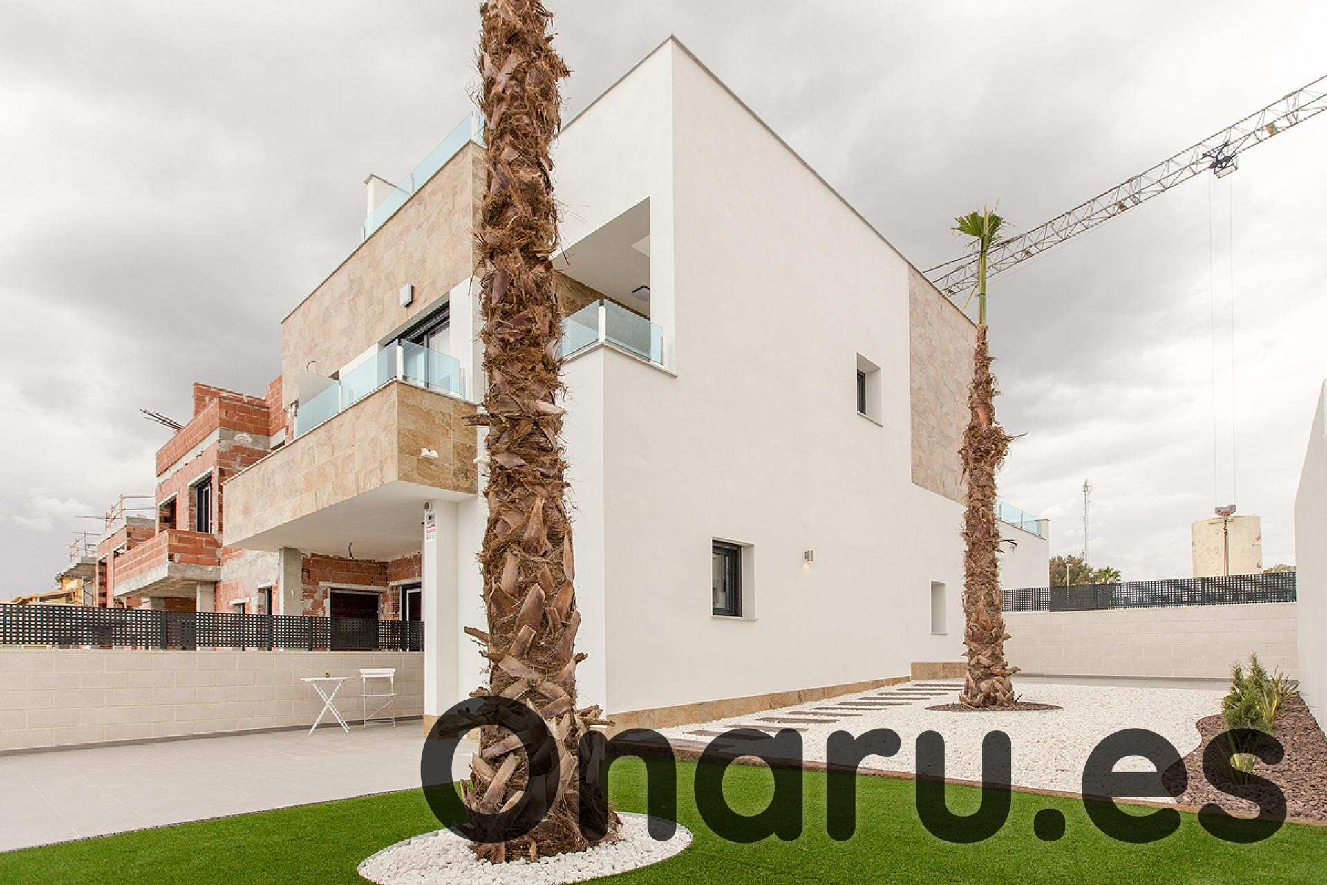 Ref:onaru-5370 Townhouse For Sale in Bigastro