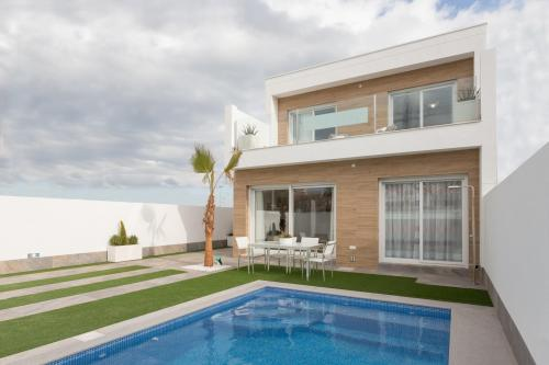Great villas in San Pedro del Pinatar