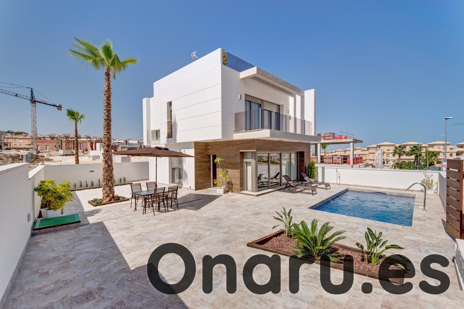Ref:onaru-5400 Villa For Sale in Villamartin