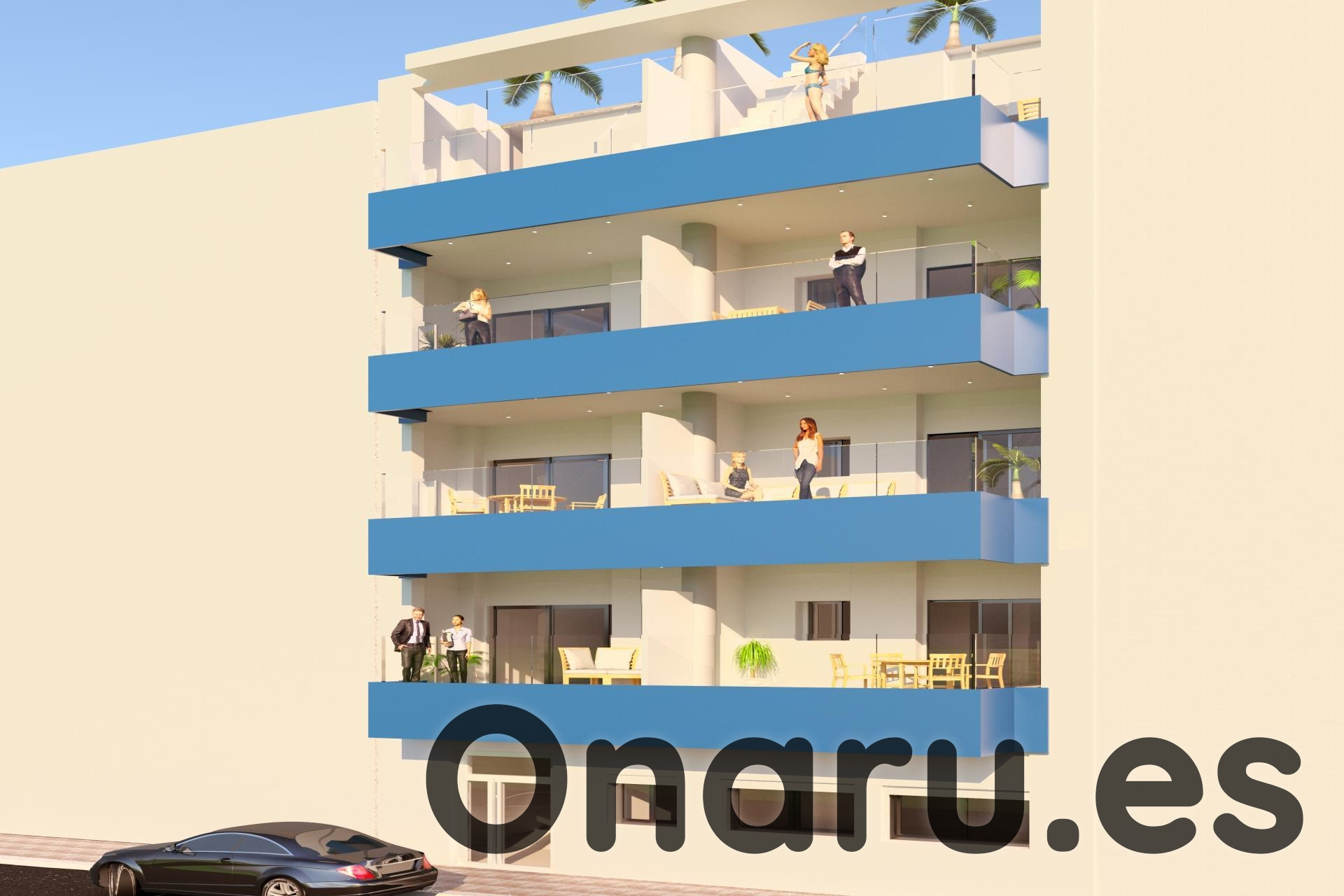 Ref:onaru-5440 Apartment For Sale in Torrevieja