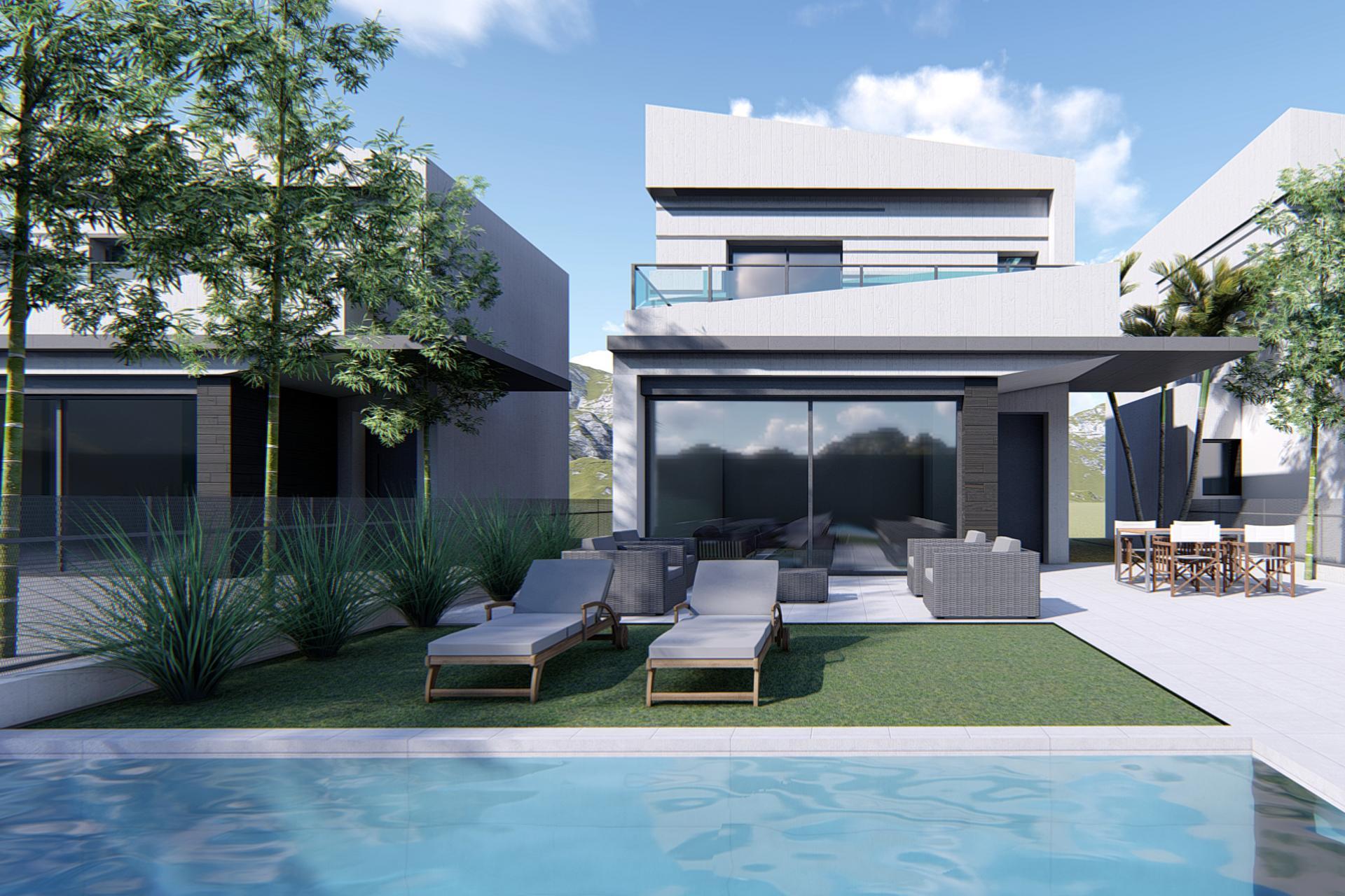 Luxury detached villa in Heredades