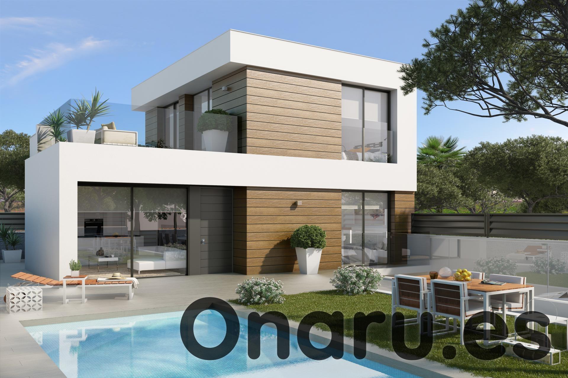 onaru-5455: Villa in El Campello