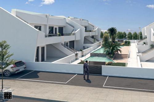 Complete top floor bungalow in San Pedro del Pinatar