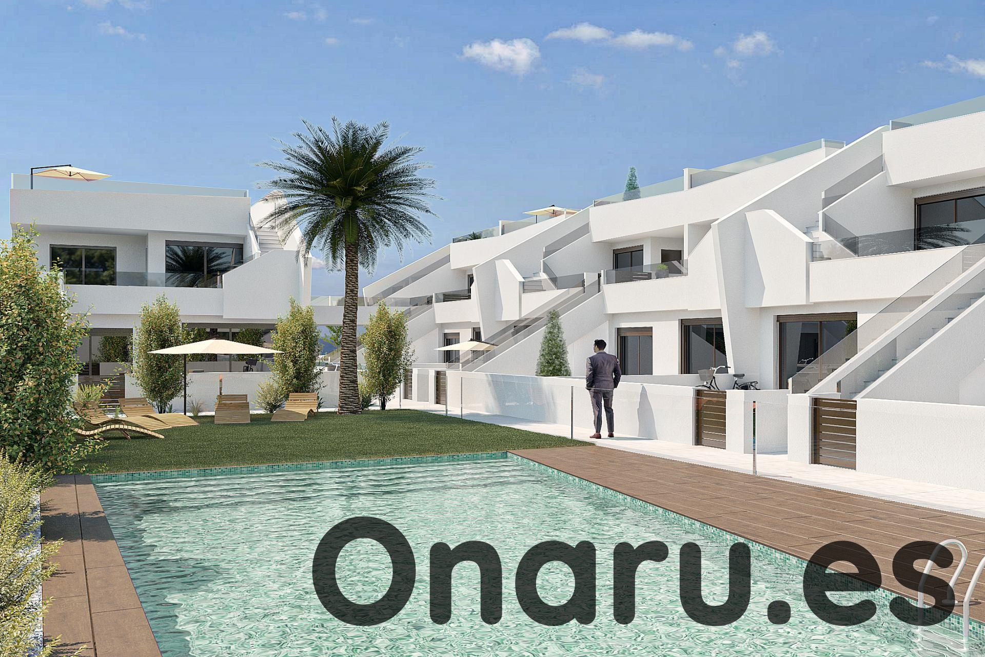 Ref:onaru-5462 Bungalow For Sale in Pilar de la Horadada