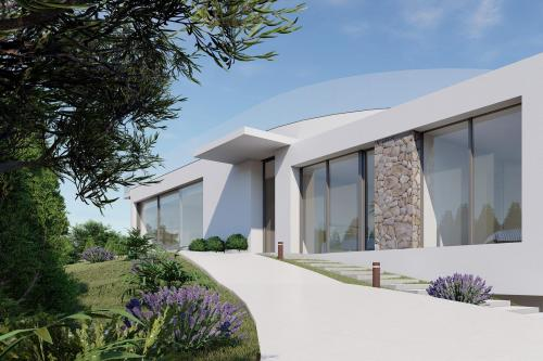 Luxury villa in golf course