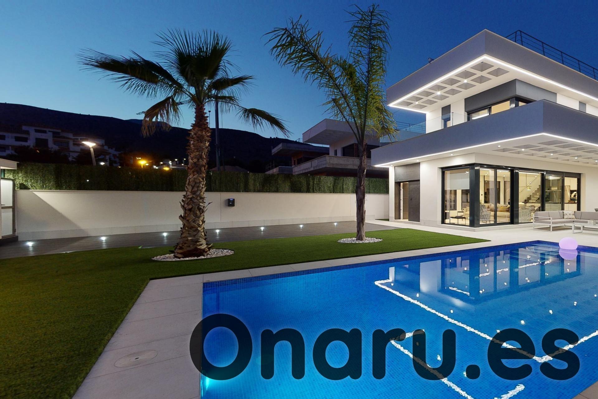 Ref:onaru-5515 Villa For Sale in Finestrat